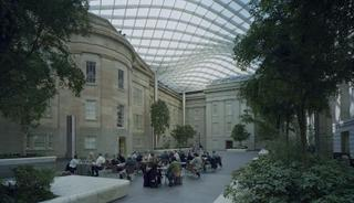 The Robert and Arlene Kogod Courtyard at the Smithsonian\'s National Portrait Gallery and Smithsonian American Art Museum,