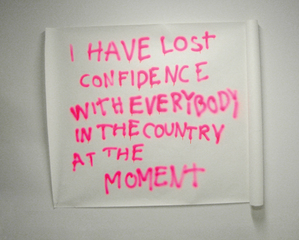\'I have lost confidence with everybody in the country at the moment\', Julieta Aranda