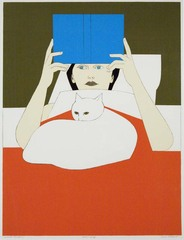 Woman Reading, Will Barnet