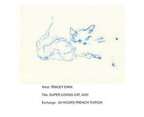 Super Loving Cat, Tracy Emin