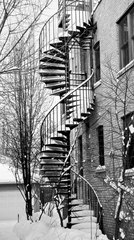 curves.stairs.winter, Nancy Bechtol