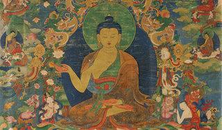 Shakyamuni Buddha; Tibet,