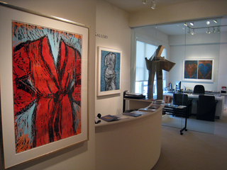 Jim Dine Classic Symbols Installation at Meyerovich Gallery,