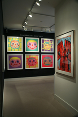 exhibition at Meyerovich Gallery, Donald Baechler