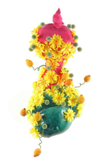 Flower Blob #65, Roberley Bell