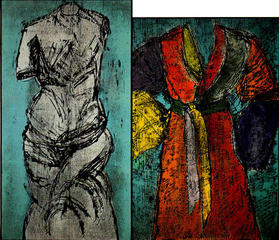 Colorful Venus and Neptune,Jim Dine
