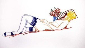 20101215095159-wesselmann_-_nude_with_bouquet_and_stockings