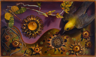 Diorama with Sunflowers, Kevin King