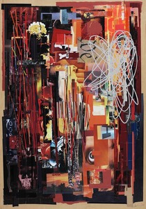 Human_cuts-2006-collage_on_paper-42x60
