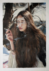 Untitled; Lizzie in the Snow, Yigal Ozeri