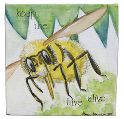 Keep the Hive Alive, Denise Tanaka