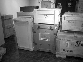 Storage Boxes, Ed Gomez