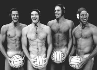 Water Polo Boys, (U.S. Water Polo Team, Long Beach, California), Joe McNally