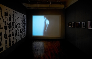 installation view, Stan VanDerBeek