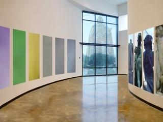 Installation of \'Grande Avenues\', Marisa Baumgartner