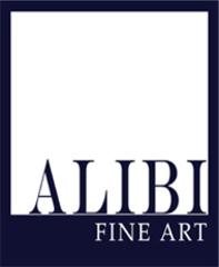 Alibi Fine Art Logo,