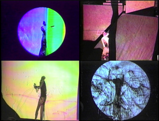 """Puppetry video for performance""  ,Tom Thayer"