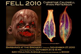 FELL 2010, Ryan Patterson, Christine Caldwell