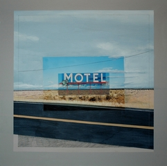 Abandoned Motel Sign, Coulee City, Washington, Eric Engstrom