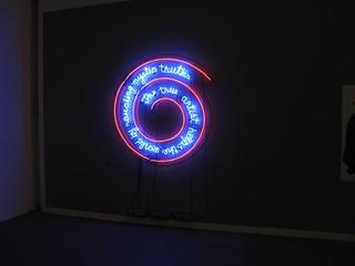 The Artist Helps the World by Revealing Mystic Truths, Bruce Nauman