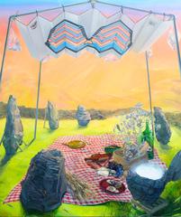 Dejeuner dans le Cercle, Christine Gray