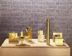 sculptures in brass, Erwin Heerich