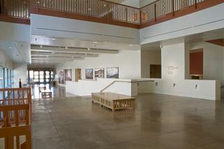 Lobby, NM History Museum,