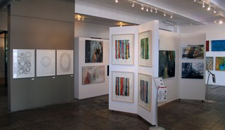 Artspace Warehouse Los Angeles Afficionado gallery section $1,000-$2,000, Raul de la Torre, Paul Kirley, Edith Konrad, Clara Berta
