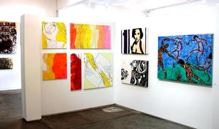 Artspace Warehouse Los Angeles Affordable Artworks, Hilary Bond, Courtney Raney