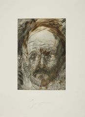 From 55 Portraits,Jim Dine