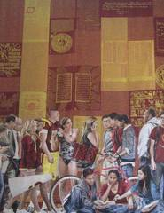 The Trojan Family Tapestry,John Nava