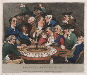 Private Amusement, Thomas Rowlandson