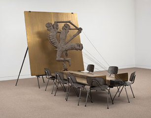 Anthropological Trophy,Mark Manders