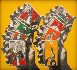Untitled (Shuffle), Wallace Berman