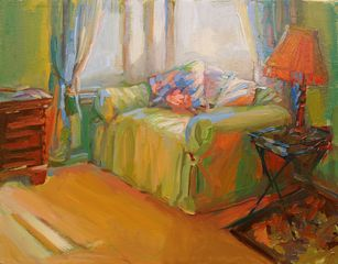 Morning Light in the Bedroom,Lori Escalera