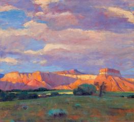 Abiquiu Vista, Evening, Greg Harris