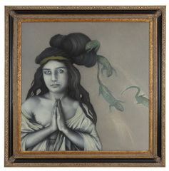 She Tried To Hide The Lizards In Her Hair, Jo Ellen Van Ouwerkerk
