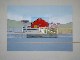 Red Barn, Sonoma, Eric Engstrom