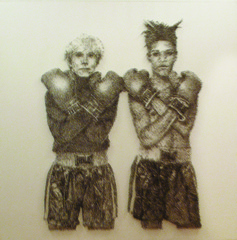 Warhol and Basquiat, Nicus Lucá