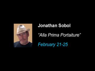 """Alla Prima Portraiture"", Jonathan sobol"