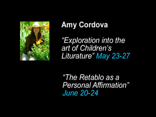 """Intro to Children\'s Literature"" & ""The Retablo as a Personal Affirmation"", Amy Cordova"
