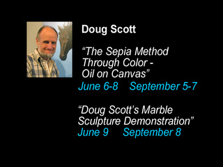 """The Sepia Method Through Color"" & Sculpture Demo, Doug Scott"