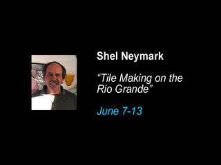 """Tile Making on the Rio Grande"", Shel Neymark"