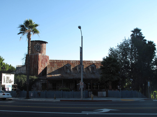 "Former Site of the Renaissance Club or Club Renaissance (?), 8430 Sunset Blvd., West Hollywood. Location where artist Niki De Saint Phalle stages ""Tir"" (Shooting Event), Vincent Ramos"