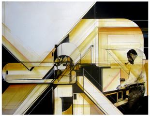 Triangulations of a golden boss, Augustine Kofie