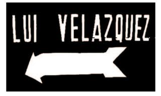 Lui Velazquez sign,