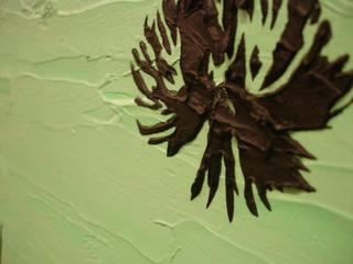 Scyscraper Palms - detail view, Lucinda Luvaas
