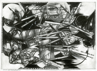 Pencils and Masks, Number 2,Barron Storey