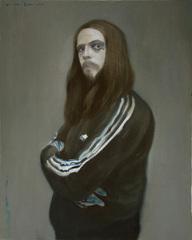 Portrait of a German Artist, Alexander Tinei