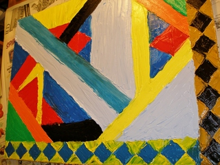 hawaiian geometric abstract, THOMAS JOHN TAYLOR